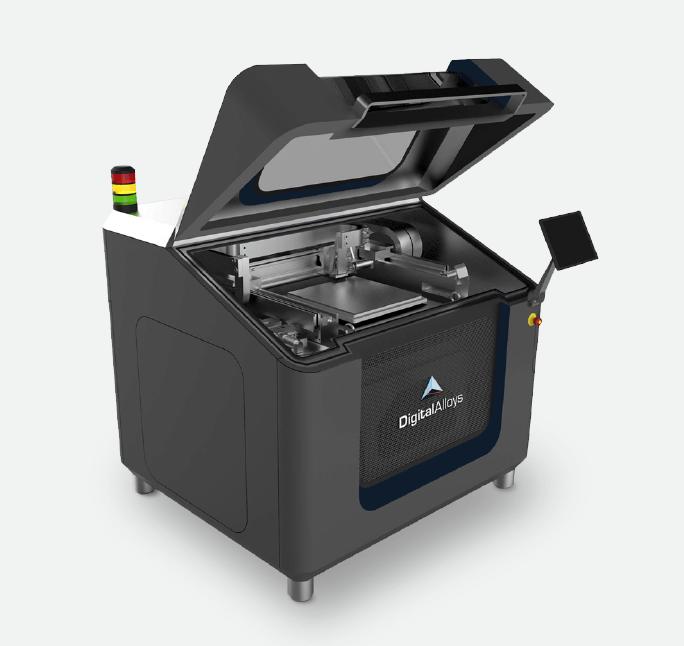 Joule Printing metal 3D printer