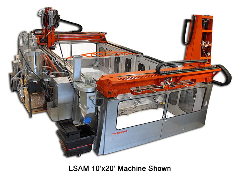 LSAM Thermwood - Imprimantes 3D
