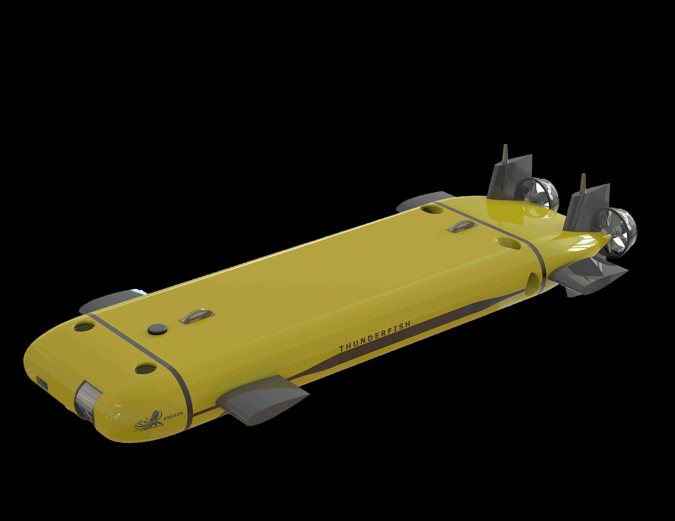 Thunderfish Kraken Robotics - Drones