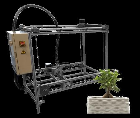 Concrete Mini Printer Constructions-3D - Imprimantes 3D