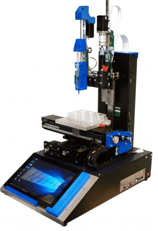 Engine HR Hyrel 3D - Bio-impression, Silicone