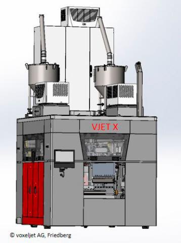 VJET X voxeljet - Imprimantes 3D