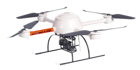 md4-200 Microdrones - Drones
