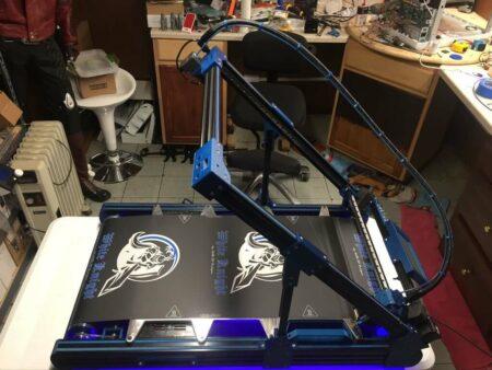 White Knight 3D printer NAK 3D Designs - Imprimantes 3D