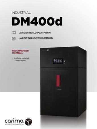 DM400d Carima - Grand format, Résine