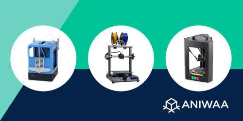 Guide d'achat de Noël : notre sélection d'imprimantes 3D 2020
