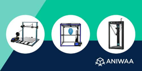 Imprimantes 3D grande taille à moins de 1000 €