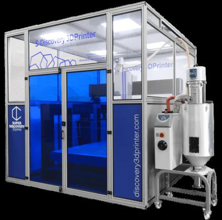 Super Discovery CNC Barcenas - Imprimantes 3D