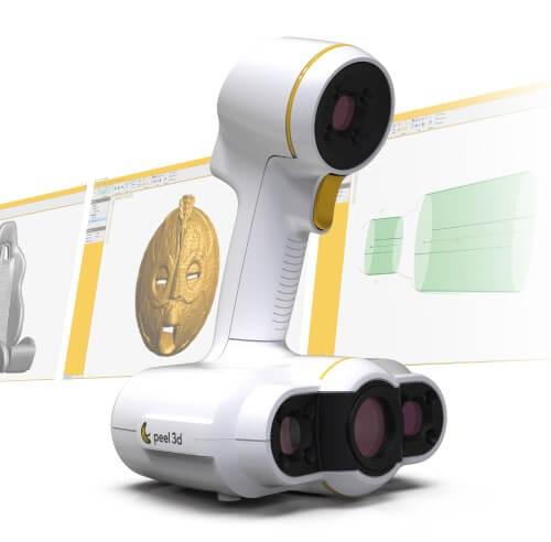 peel 2 peel 3D - Scanners 3D