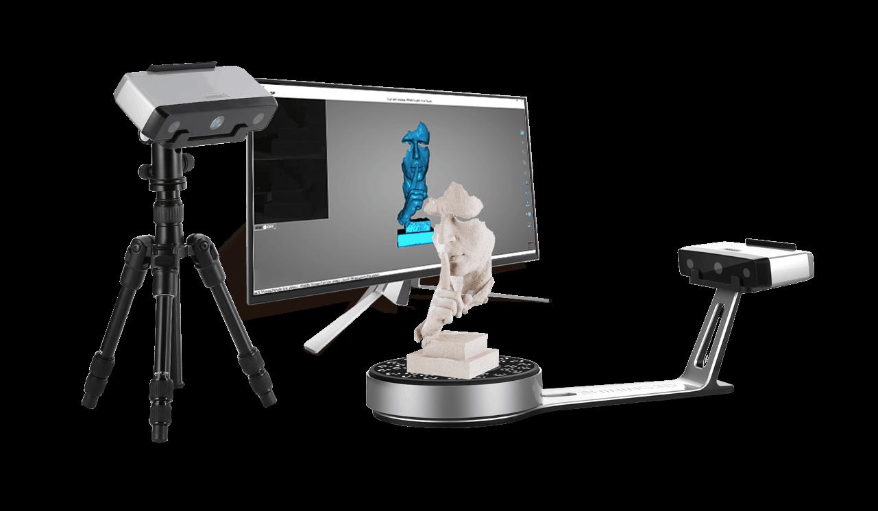 Le EinScan-SE et EinScan-SP : les scanners 3D de bureau nouvelle génération