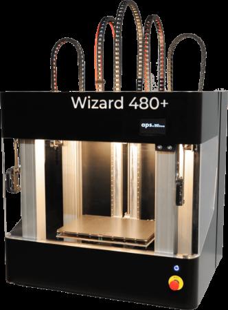 Wizard 480+ APS - Tech Solutions - Imprimantes 3D