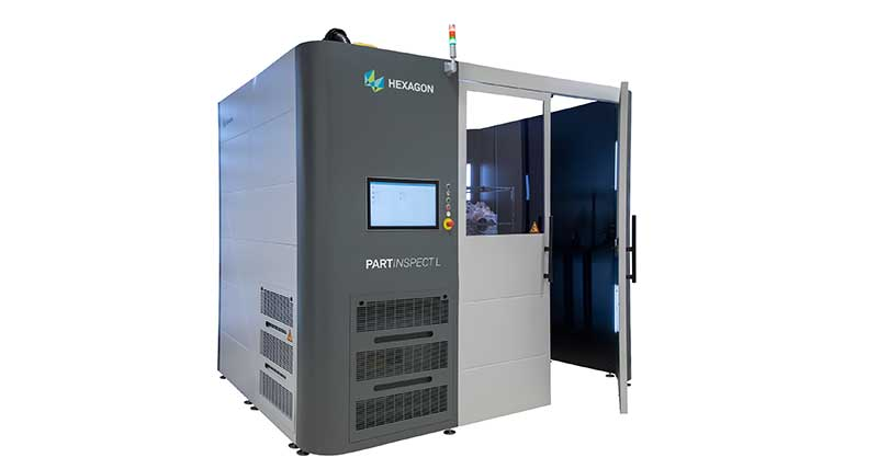 PartInspect L Hexagon Metrology - Scanners 3D