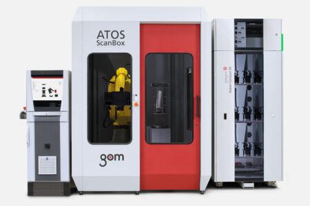 ATOS ScanBox BPS GOM - Métrologie