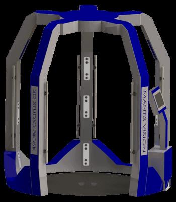 3iosk Mantis Vision - Scan corporel
