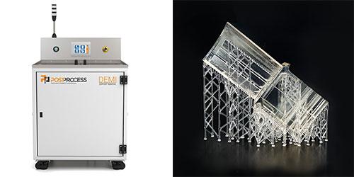 Plus de sécurité et productivité dans la fabrication additive résine
