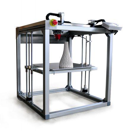 3.1 Multimaterial 3D printer StoneFlower - Argile, Céramique