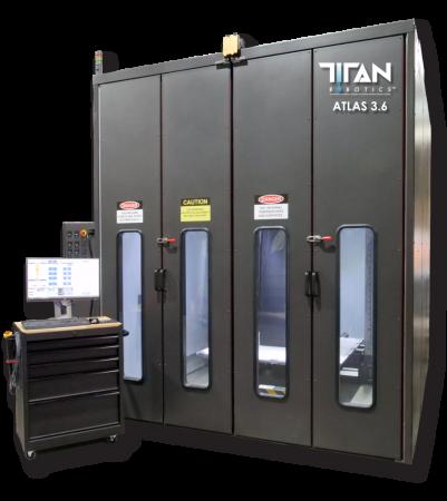 Atlas 3.6 Titan Robotics - Grand format, Granulés