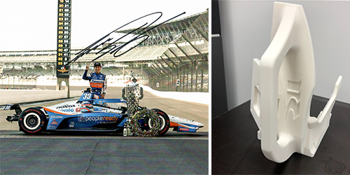 Étude de cas : Impression 3D sur la piste de course avec RLL Racing