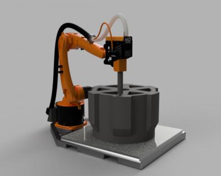 MDPC - MASSIVE DIMENSION PRINTING CELL Massive Dimension - Imprimantes 3D