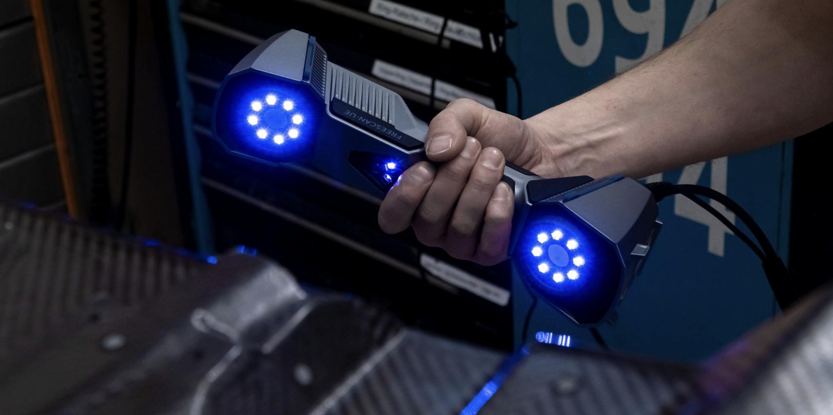 Shining 3D dévoile sa nouvelle génération de scanners 3D portables FreeScan : découvrez les nouveaux UE7 et UE11