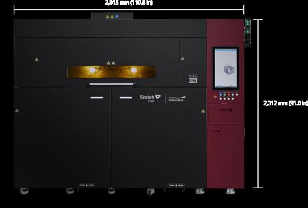 S100 Sindoh - Grand format, SLS - FR
