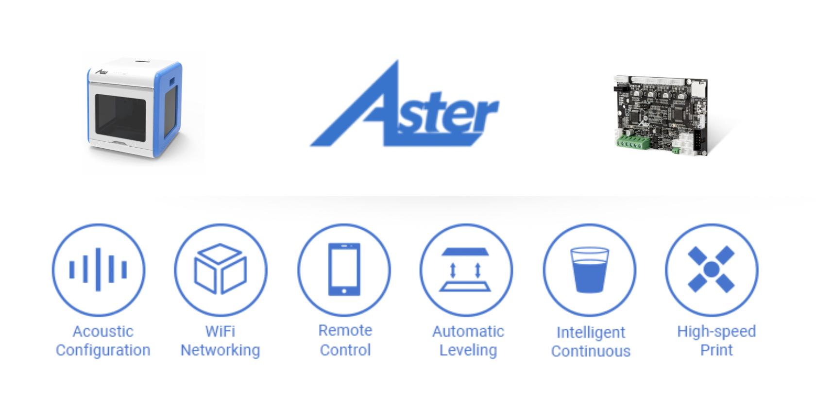 Impression 3D à petit prix avec Aster 3D