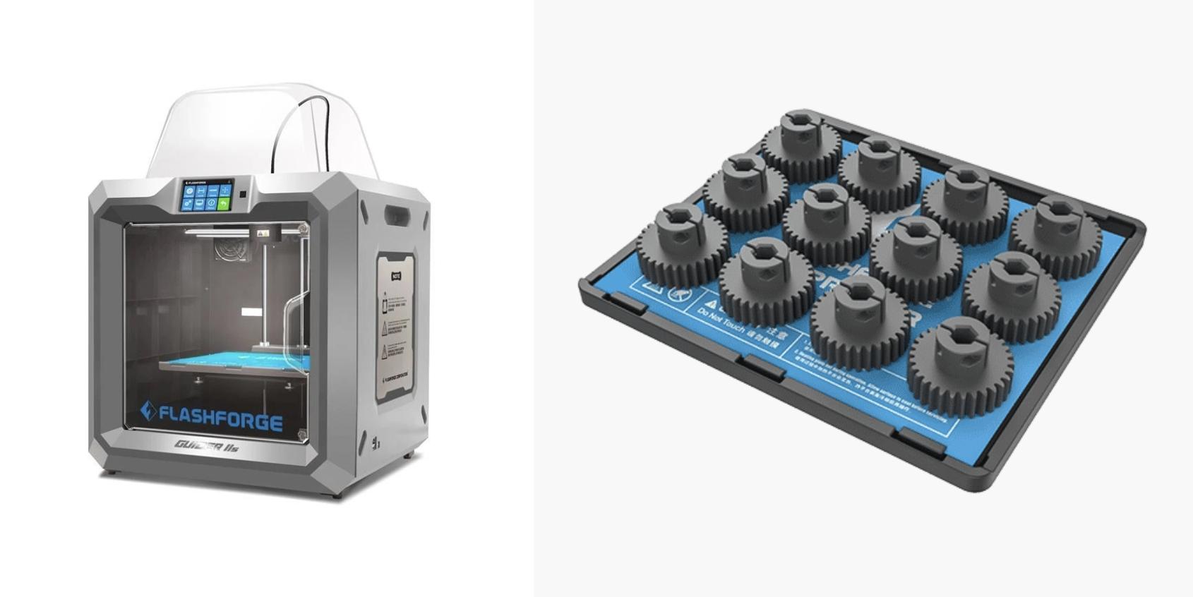 Flashforge Guider IIS : Imprimante 3D de bureau grand format pour petites séries de production