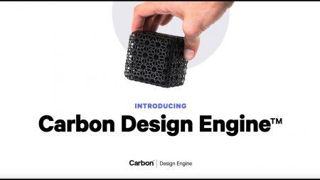 Design Engine Carbon - Modélisation 3D
