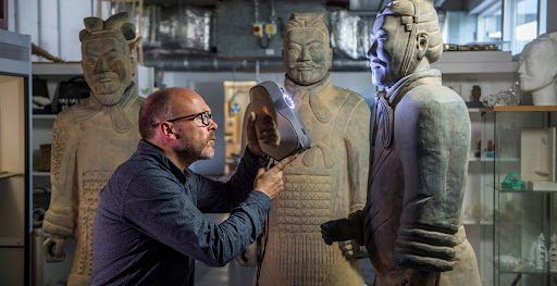 Archeology museums 3D printing