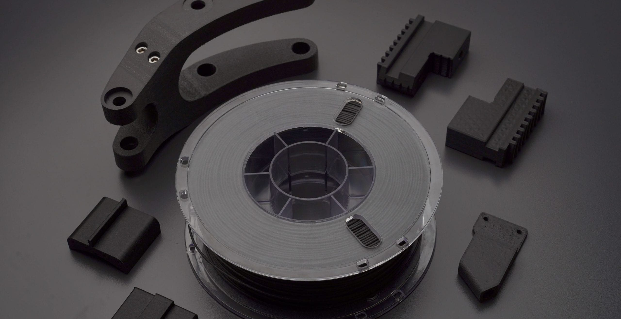 Continuous fiber 3D printers
