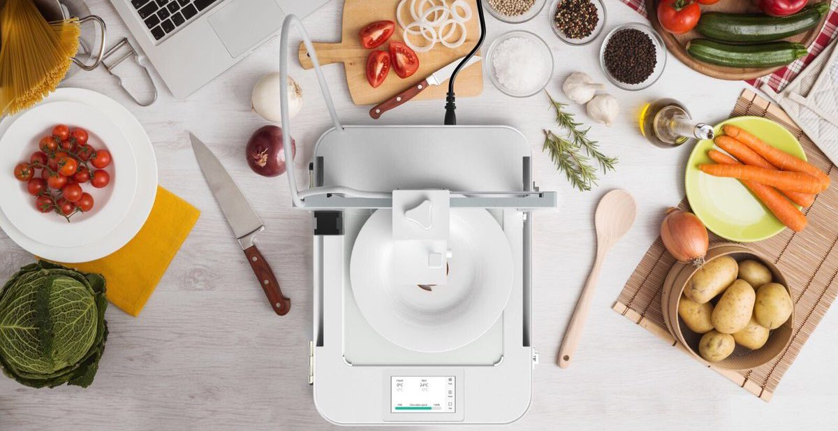 Imprimer de la nourriture en 3D