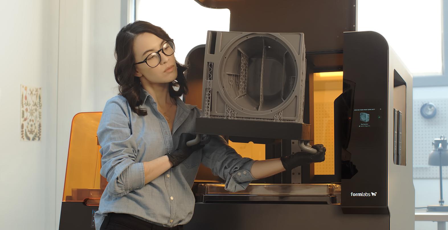 large resin 3D printers