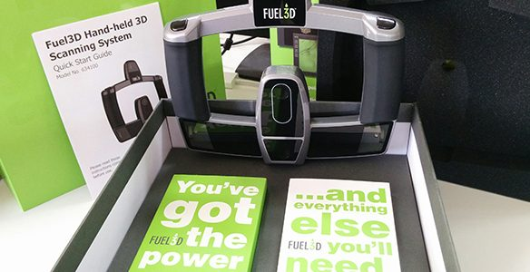 Le Fuel3D SCANIFY, un scanner 3D portable léger