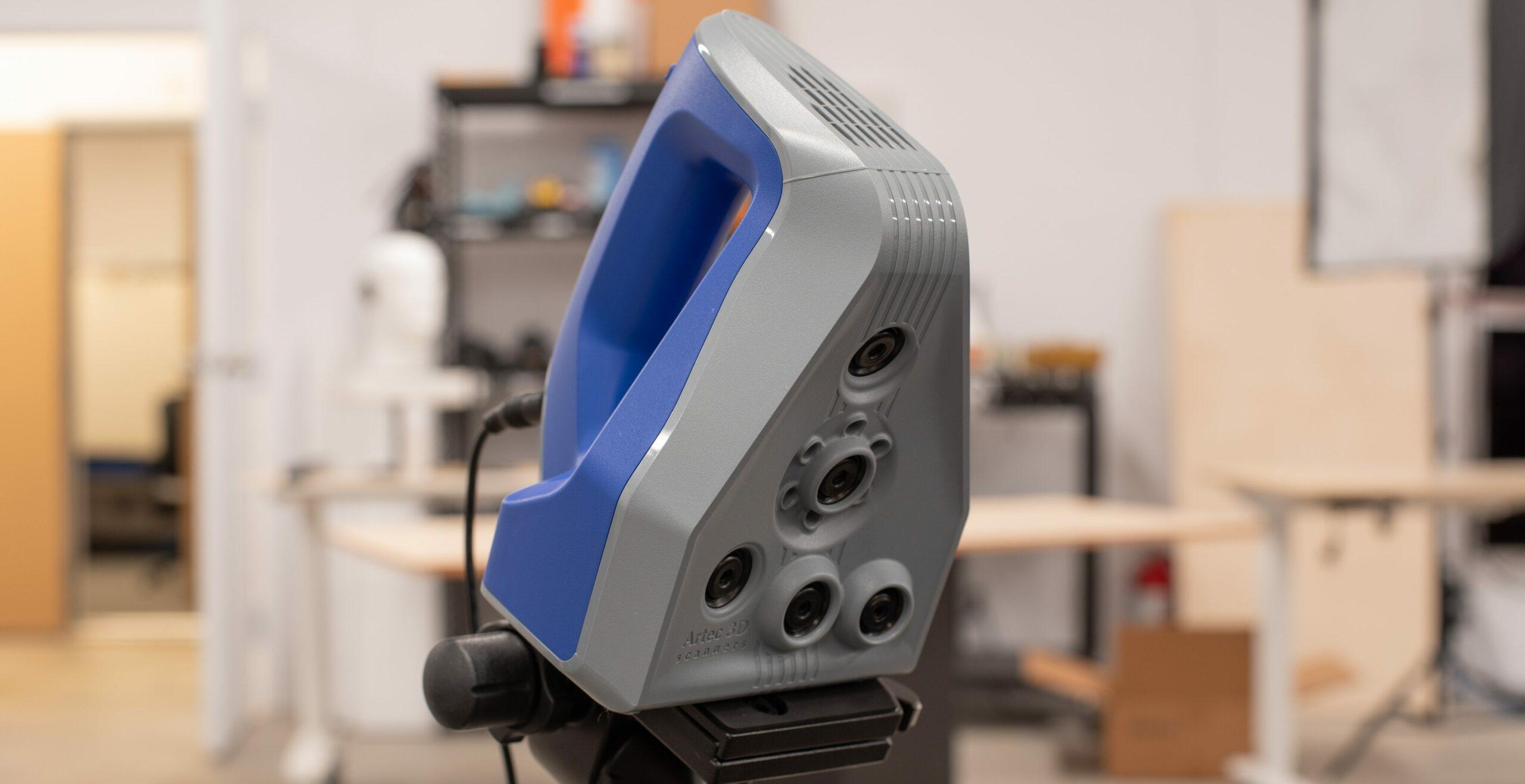 Prise en main du Artec Space Spider, un scanner 3D portable