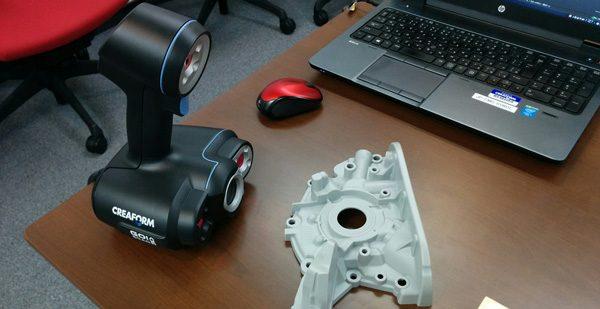 Test du Creaform Go!SCAN 50, un scanner 3D portable industriel performant