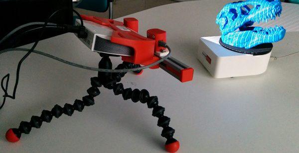 Le RangeVision Smart, un scanner 3D de bureau abordable