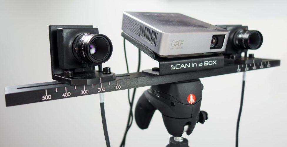 Scan In a Box (SIAB), un scanner 3D de bureau abordable pour les professionnels par Open Technologies